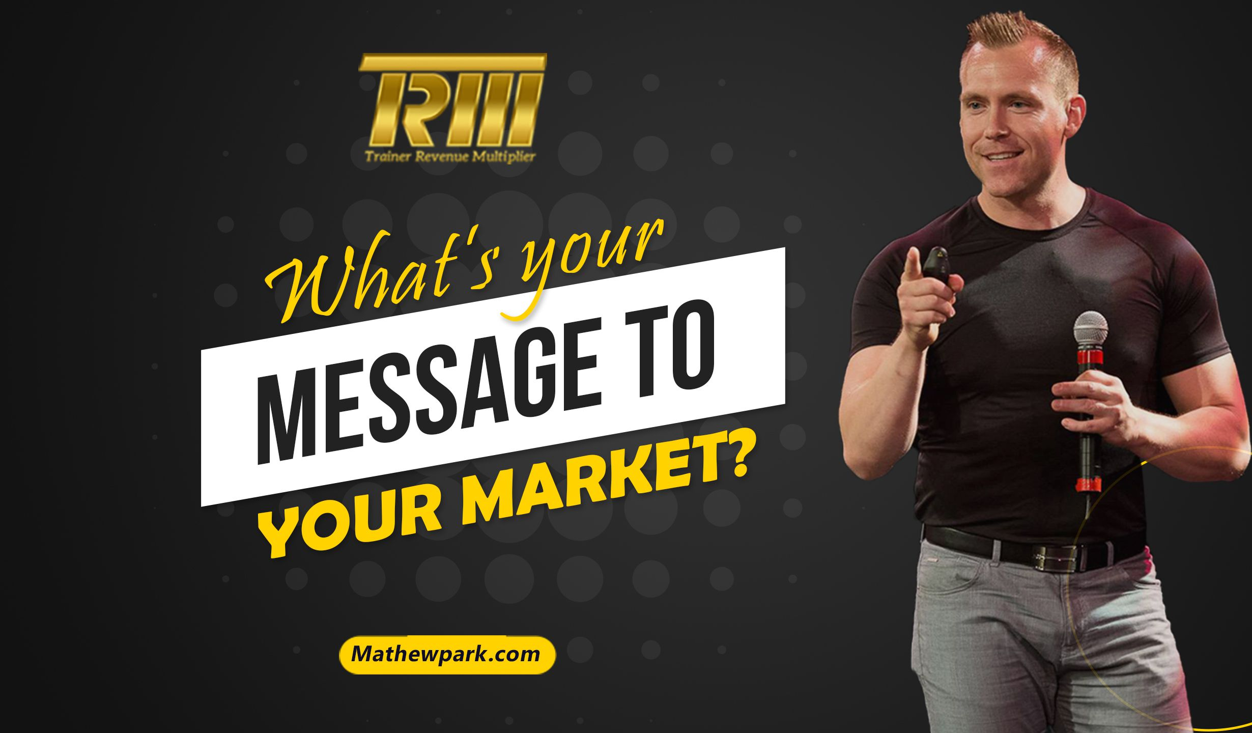 What's-your-message-to-your-market